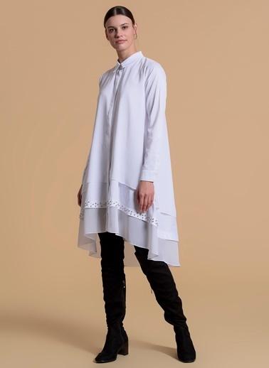 Moodbasic Gömlek Beyaz
